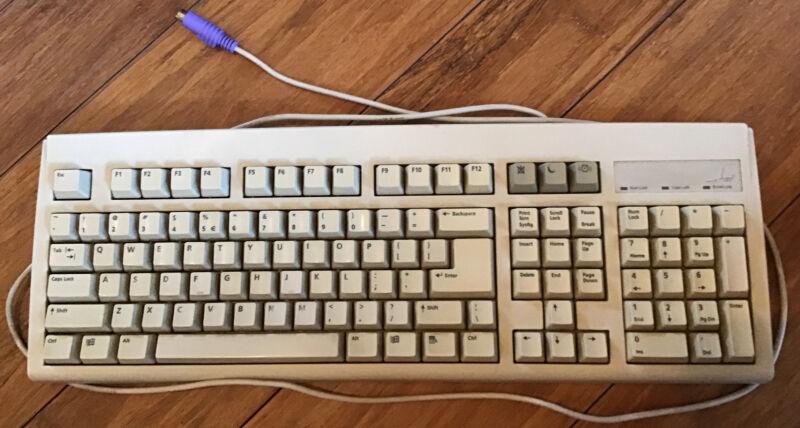 Vintage BTC 5201 Wired Keyboard