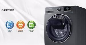 SAMSUNG  ADDWASH™ 8.5KG FRONT LOADER WITH ADD DOOR_WW85K6410 North Sydney North Sydney Area Preview