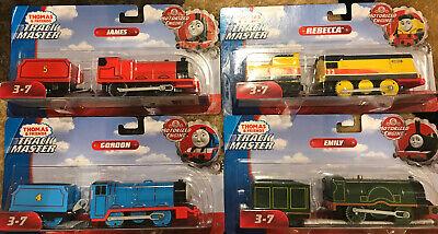 4 Thomas & Friends TrackMaster Motorized Gordon Rebecca Emily James Train Engine