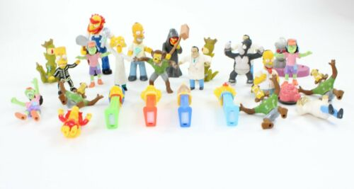The Simpsons Loose Figure Figurine Toy Lot of 25 - Homer + Great Variety