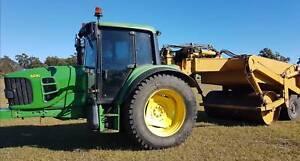 John Deere 6430 Tractor/Mallard Duo-Pactor Roller Combination. Noosaville Noosa Area Preview