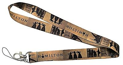 Broadway's Classic Musical Hamilton Themed Cosplay ID Holder LANYARD Keychain - Themed Lanyards