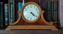 Howard Miller Dual Chime 77th Anniversary Edition Mantel Clock