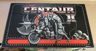Bally Midway Centaur II 2 Pinball Machine BackGlass Back Glass Art