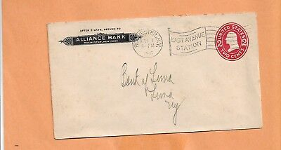 Alliance Bank 1916 Rochester Ny Vintage Advertising Cover