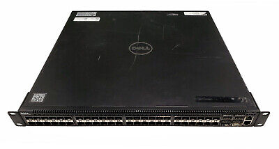 Dell Force10 S4810 48-Port 10GbE SFP+ / 4P 40GbE QSFP+ Switch w/2x Reverse PS