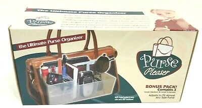 The Ultimate Purse Organizer by Purse Pleaser Bonus Pack Contains 3 - Ultimate Purse Organizer