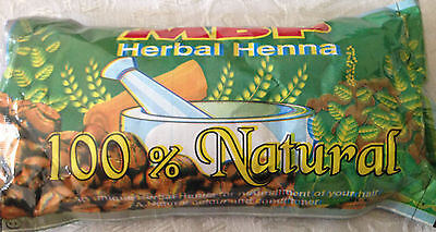HERBAL HENNA, 100% NATURAL FOR NOURISHING AND COLORING YOUR HAIR (125 GM PK).  -