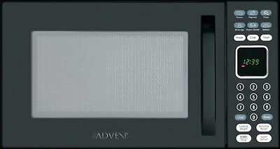 Advent MW912BWDK Black Built-in Microwave Oven, 0.9 cu.ft. c