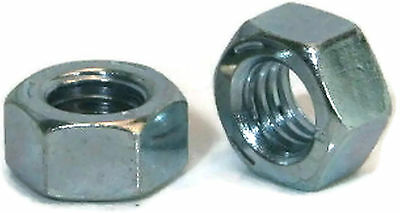 "Hex Finished Nuts Grade 2 Zinc Nut - 1/4""-20 UNC - Qty-250"