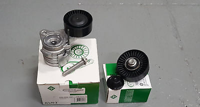 INA DRIVEBELT PULLEY AND TENSIONER KIT BMW 128i 323i 328i X3 X5 06-13