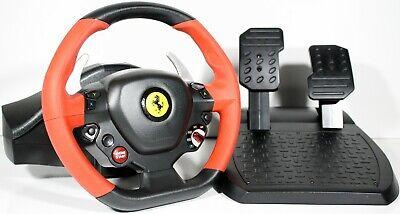 Thrustmaster Ferrari 458 Spider (4460105) Wheel And Pedals Set XBOX ONE NOB