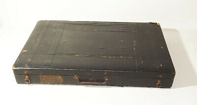 Beautiful Old Zither Haslwanter Munich Court Purveyor Before 1945 With Suitcase