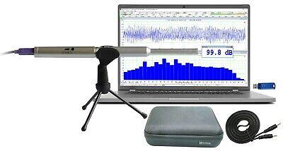 Rta-168a Pc Real Time Audio Spectrum Analyzersound Level Meterpolarity Tester