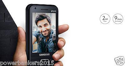 Samsung Metro XL Mobile B355E Dual Sim - Black 3.1MP Front & 2MP Rear Camera