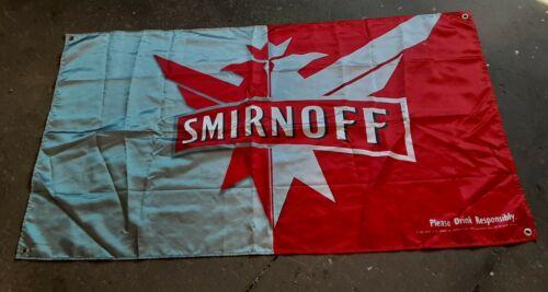 Smirnoff  Fabric Banner / Flag.  34x57  Vodka