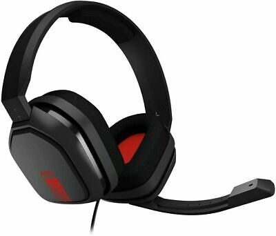 NEW ASTRO Gaming A10 Wired 3.5mm Gaming Headset Xbox One PS4   - Red