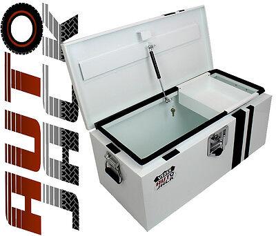 Autojack Safe Site Security Van Vault Storage Tool Box Steel Chest Secure Lock x