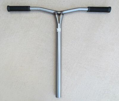 DIS chromoly steel RAW custom bars for SCS - raw steel finish