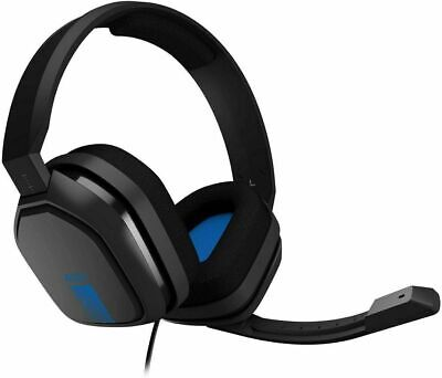 NEW ASTRO Gaming A10 Wired 3.5mm Gaming Headset Xbox One PS4 - Blue
