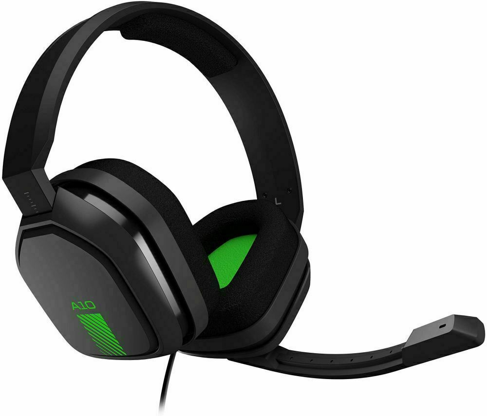 ASTRO Gaming A10 Green/Black 3.5mm Boom Mic Gaming Headset X