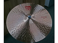 "Paiste 22"" 2002 Heavy Ride Cymbal"