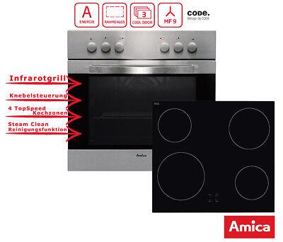 Einbauherd Set Schott Ceran Umluft & Grill Amica EHC 12516E ()