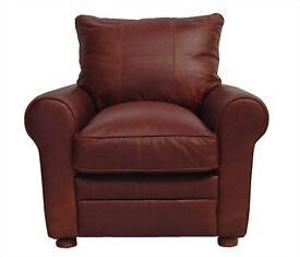 Vintage leather Boston chair £595