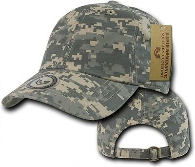 12d84a1f505 Digital Camo Ball Cap Camouflage Washed Cotton Polo Cap Military Baseball  Hats
