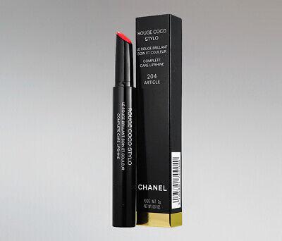 CHANEL Rouge Coco Stylo Le Rouge Brilliant Lipshine - Pick Your Color NIB