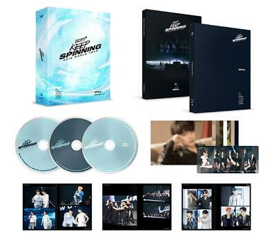 GOT7 2019 WORLD TOUR KEEP SPINNING IN SEOUL DVD + MINI POSTER + PHOTOCARD NEW