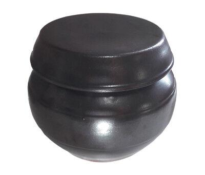 30.43oz(900cc) Korean Traditional Earthenware Pottery Fermenting Jar Hangari