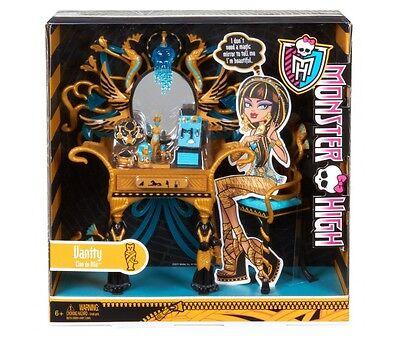 Monster High Cleo Denile Vanity Playset New Rare (Cleo Denile)