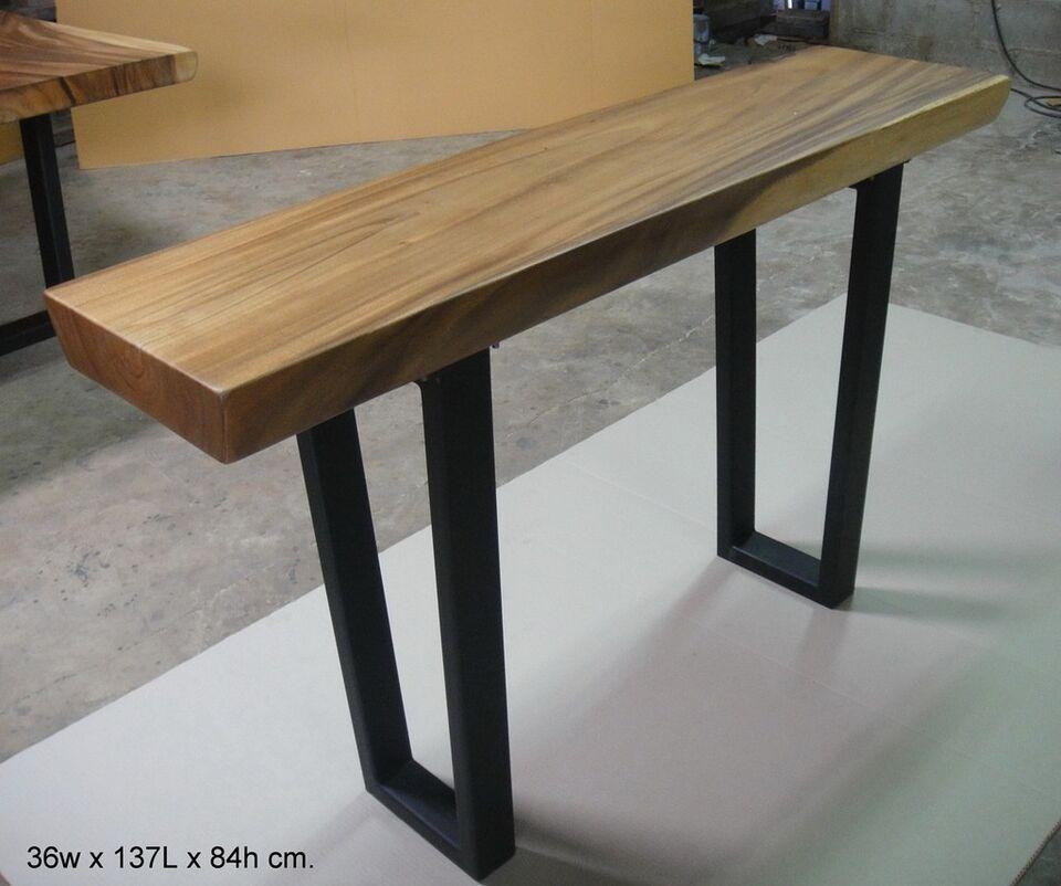 Teak Coffee Table Kijiji: Live Edge Furniture - One Slab Of Wood