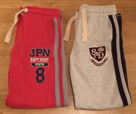 2 brand new, mint condition men's medium Superdry joggers. RRP £50 each.
