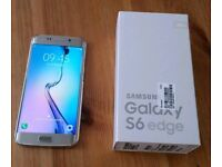 Brand new use condition Samsung galaxy S6 edge 32gb factory Unlocked boxed