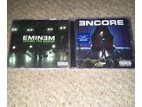 Eminem CD's - When I'm Gone & Encore