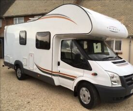 2015 tribute motorhome, 4 berth excellent condition