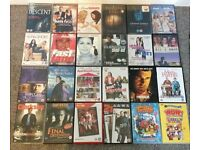 DVD Collection - 24 in total, 7 unopened, 17 excellent condition