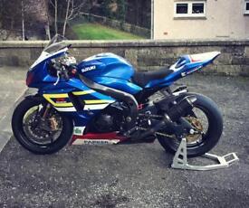 SUZUKI GSXR 1000 race bike, track bike, ex TAS Suzuki. 2010, full engine refresh 186bhp