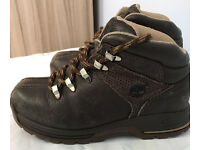 Two pairs of kids boots,still in good condition, both good makes Timberland & Karrimore,only £10