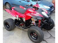 2014 ADLY 400XS FULLY ROAD LEGAL SPORTS QUADBIKE