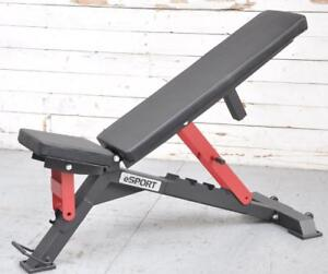 SPECIAL PRICE eSPORT ADJUSTABLE BENCH IRON BULL 90 (Not Available ate Retail stores)