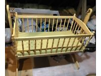 Wooden Rocking Crib for Sale