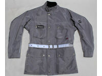 "Belstaff Roadmaster Jacket in Grey Euro 40, UK 36"" Chest"