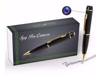 Spy Pen Camera High Resolution DVR, Video Camcorder, Pictures & Audio 007 Secret Agent free SD Card