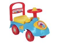 Chad valley my first ride on toy kids toy NEW IN BOX
