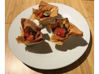 VEGAN COOKING - CANAPES, EVENTS OR DINNERS
