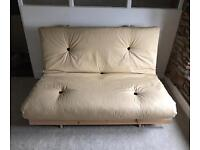 Double 2 Seater Futon Sofabed-AS NEW