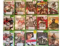 15x Xbox 360 games